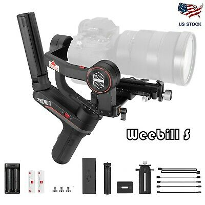 Zhiyun Weebill S 3-Axis Handheld Gimbal Stabilizer for DSLR & Mirrorless Camera