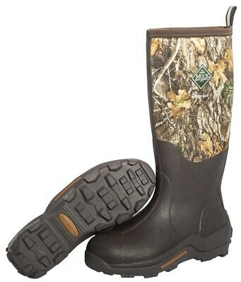 NEW Muck Boot WDM-RTE-RTR-110 Woody Max Waterproof Rubber Hunting Boots Size 11