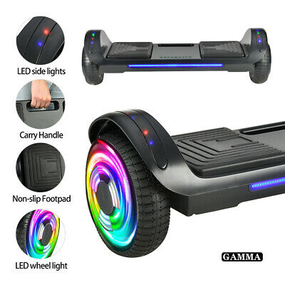 Bluetooth Hoverboard Self Balancing Scooter LED Flash UL2272 Bag Birthday Gift