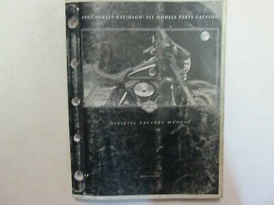 2001 Harley Davidson FLT Touring Models Motorcycles Parts Catalog Manual OEM