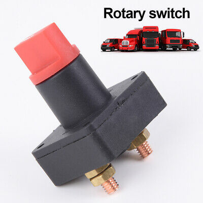 Marine Auto 100A Battery Isolator Disconnect Power Cut Off Kill Selector Switch