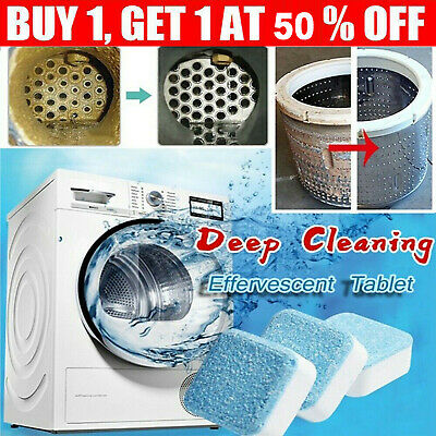 Washing Machine Cleaner Cleaning Tool Detergent Cleaner Effervescent Tablet AU