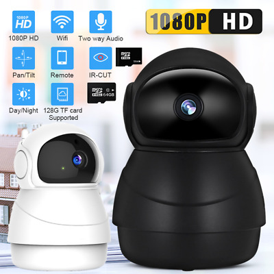 HD 1080P Wireless IP  WiFi Camera CCTV Home Security System Network Night Vision