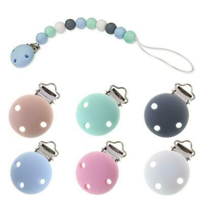 1pc Craft Nipple Clasps Soother Chain Dummy Holder Baby Teethers Pacifier Clip