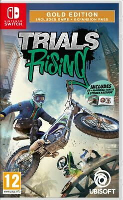 Trials Rising - Gold Edition (Switch)  NEW AND SEALED - QUICK DISPATCH - IMPORT