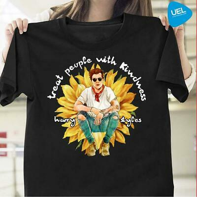 Treat People With Kindness Harry Styles Sunflower Shirt, Cute Festival Shirt