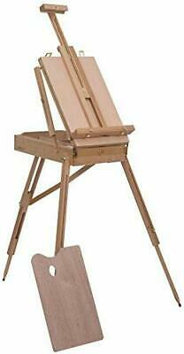 6ft Wooden Sketch Box Tripod Easel Artist Field Studio Painting & Drawing BV-A57