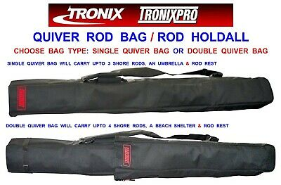 Tronixpro Double Compartment QuiverCarry 4 rods tripod and brolly