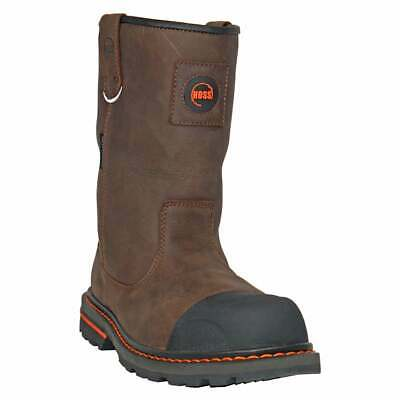 HOSS Boots Cartwright II Buffalo Pull On  Casual   Work & Safety Brown Mens -