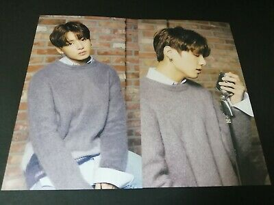 BTS JUNGKOOK Photo Card Lot of 2 MEDIHEAL Mask Official