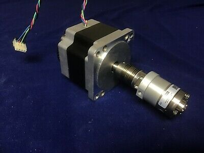 Rheodyne 7000 HPLC Valve with Vexta PK296-02BA Stepping Stepper Motor