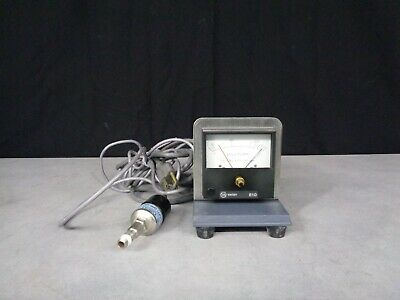 Varian 810 Millitorr tc vacuum gauge M-13-05 with type 0531 tc