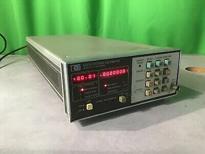 HP 3437A System Voltmeter Ex Condition