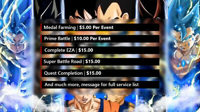 Dokkan Battle Farming Service