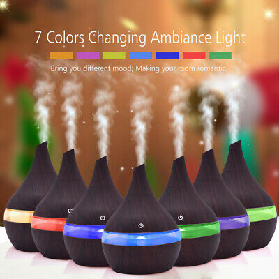 Air Aroma Essential Oil Diffuser LED Ultrasonic Aromatherapy The Humidifier CG