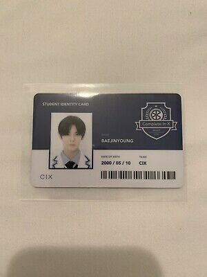 Jinyoung Official ID Photocard CIX Hello Stranger Chapter 2