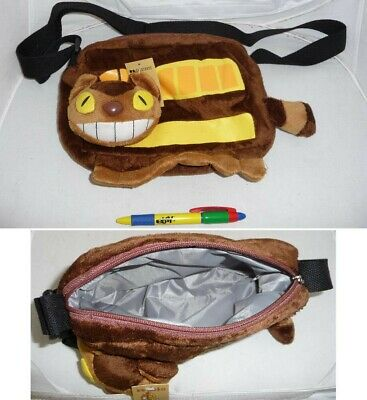 Bag Purse Plush 25x17cm Catbus Nekobus Clutch / My Neighbor Totoro