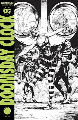 Doomsday Clock #6 Final Printing - Bagged & Boarded