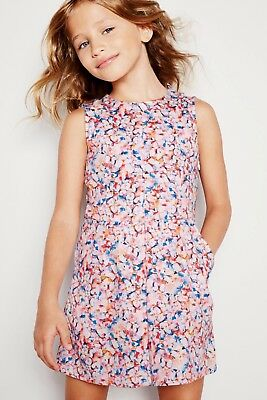 Bnwt Next Butterfly Printed Culotte Playsuit Size 8 Years