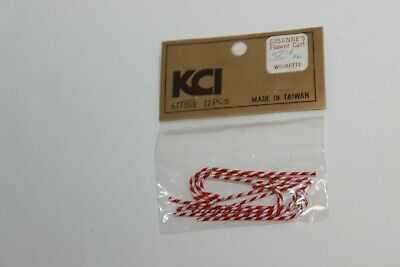 Vintage Dollhouse Craft Miniatures Christmas Candy Canes