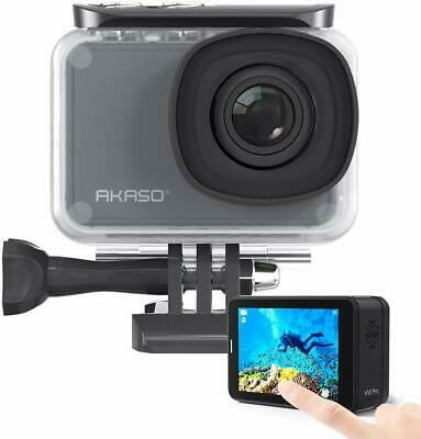 4K30fps 20MP WiFi Action Camera with External Mic Remote Control Sports Camera