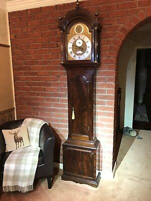 Mahogany Longcase Clock by Morris Carter of Bishops Stortford c1770