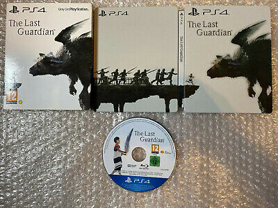 The Last Guardian Steelbook PS4 Collectors Edition IN VERY GOOD CONDITION *RARE*