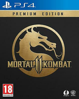 Mortal Kombat 11 Premium Edition **DIGITAL CODE** (PS4)