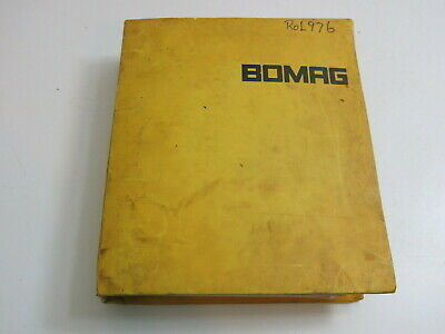 Bomag Operating & Maintenance Instructions Vibratory Roller Bw 213 A D Pd Ad