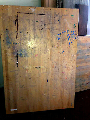 """Maple butcher block table top...60"""" by 42 1/2"""" by 1 3/4"""" thick"""