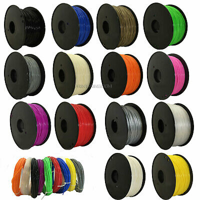 3D Drucker PETG TPU PLA HIPS PA ABS 1.75mm Printer Filament -Mit Spule 800G DE