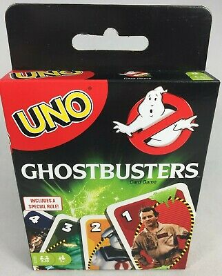 Ghostbusters Uno Card Game Family Game 35Th Anniversary Classic 80'S Movie New