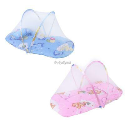 Durable Practical Baby Folding Mosquito Net With Cotton Pad 35DI