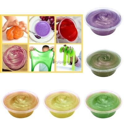60g/Box Crystal Mud Play Doh for Kids Polymer Clay Air Dry Plasticine 35DI 02