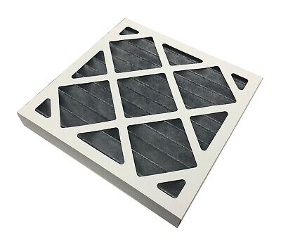 Carbon Pleated G4 Panel Air Filter - 45mm & 95mm Depth Various Sizes Card Case