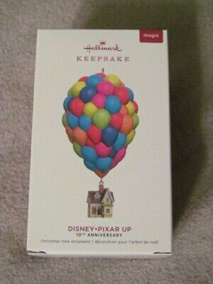 Up 10Th Anniversary Hallmark Keepsake Christmas Ornament Disney Pixar 2019