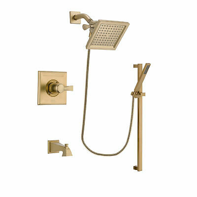 Venetian Bronze Delta RP52583RB Dryden Tub and Shower Escutcheon