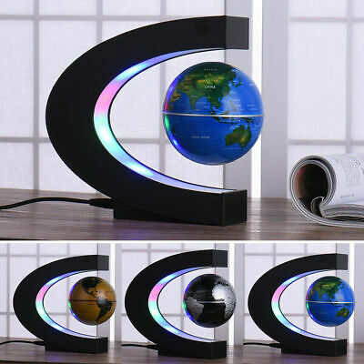 Magnetic Levitation Floating Mirror Platform World Globe Ion Desktop Display New