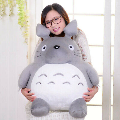 Large Anime My Neighbor TOTORO Plush Toy soft Stuffed Doll Big Gift for Kids New