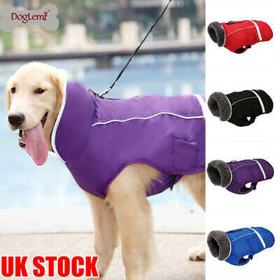Dog Clothes Winter Waterproof Pet Dog Coat Jacket Vest Small Large Dog