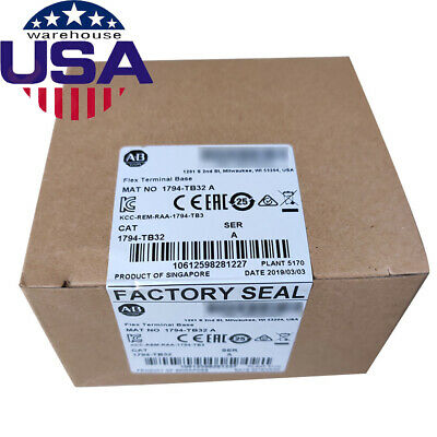 Perfect Allen-Bradley Flex I/O Terminal Base 1794-TB32 distributed I/O IP20 CE