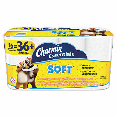 Charmin Essentials Soft Toilet Paper 2 Ply Bathroom Tissue Bulk Pack 20-40 Rolls