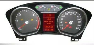 Ford Galaxy / Mondeo And Focus Instrument Cluster  Speedo Clocks  Repair Fast