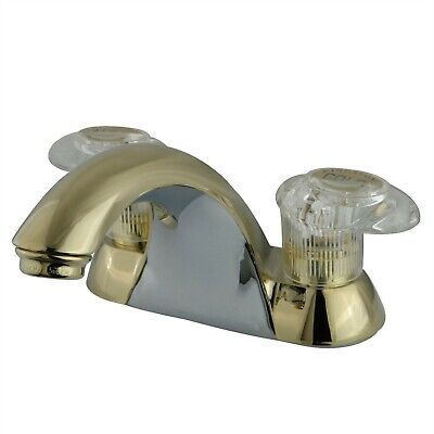 Brushed Nickel Kingston Brass KB6548LP Legacy 4-Inch Centerset with Single Lever Lavatory Faucet No Pop-Up