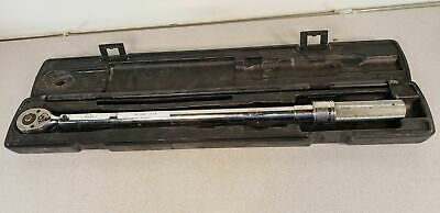 """98431 Wright Tool 4478 1/2"""" Drive Micro-Adjustable Torque Wrench, 30-250' Lbs."""