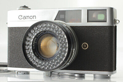 【 AS-IS 】Canon Canonet 35mm Rangefinder Camera with 45mm F1.9 Lens JAPAN #217