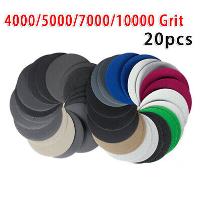 125mm Sandpaper Set Polishing Grinding Sanding Sander Replacement Durable