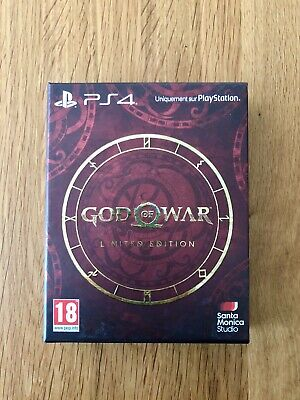 GOD OF WAR PS4 -  Limited edition steelbook  + Disque du jeu + Artbook