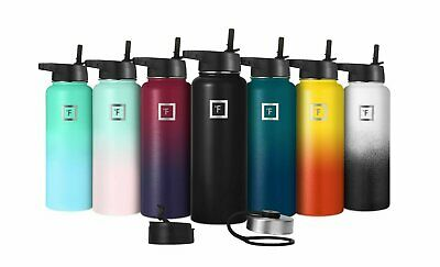 Iron Flask Sport Water Bottle Hydro Vacuum Insulated Stainless Steel 6 sizes