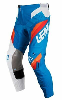 Leatt Adult GPX 5.5 I.K.S Pants Blue White Riding Motocross ATV Enduro Off Road